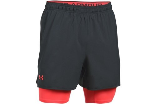 Mens Qualifier 2-in-1 Shorts