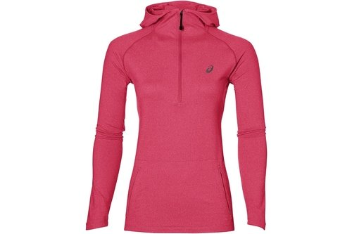 AW17 Womens 1/2 Zip Running Hoody