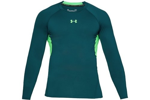 2018 Heatgear Armour Mens Training Long Sleeve Compression Top