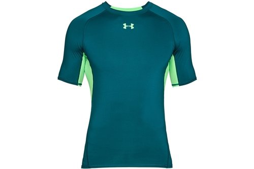 2018 Heatgear Armour Mens Training Short Sleeve Compression Top
