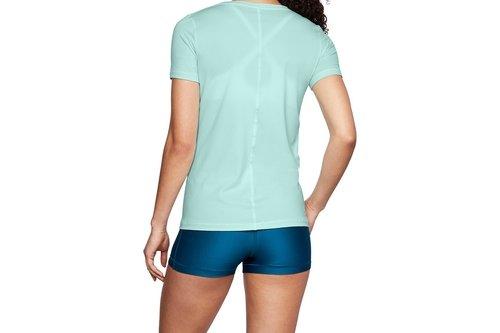 2018 Heatgear Armour Womens Training Short Sleeve Top