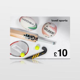 Lovell Sports £10 Virtual Gift Voucher