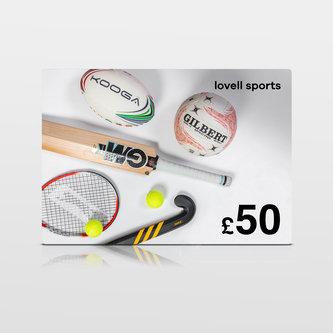 Lovell Sports £50 Virtual Gift Voucher