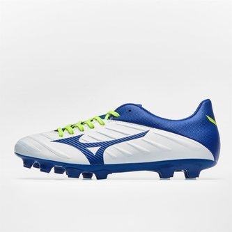 92ebb76b5dd7 Rebula 2 V3 FG Football Boots. White/Mazzarine Blue/Safety Yellow