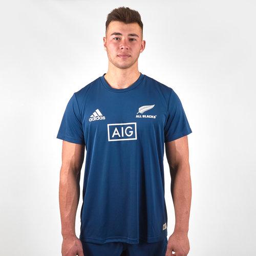 New Zealand All Blacks 2019/20 Parley Players Training T-Shirt