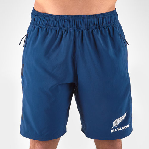 New Zealand All Blacks 2019/20 Parley Players Woven Training Shorts