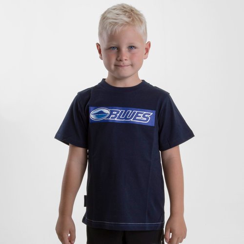 Blues 2019 Kids Graphic Super Rugby T-Shirt