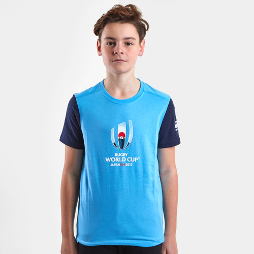 RWC 2019 Cotton Graphic Kids S/S T-Shirt