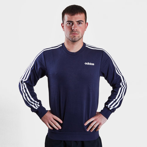 Essential 3 Stripe Crew Sweater