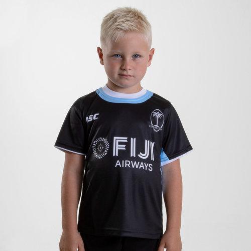 Fiji 2018/19 Kids Rugby Training T-Shirt
