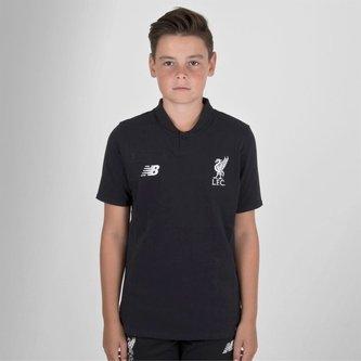 Liverpool FC 18/19 Kids Elite Classic Football Polo Shirt