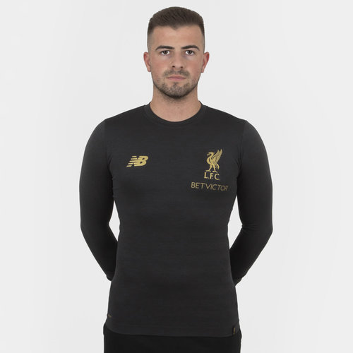 Liverpool FC 18/19 Managers L/S Seamless Football T-Shirt