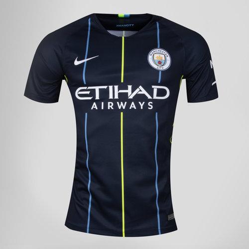 Manchester City 18/19 Away Kids S/S Replica Football Shirt