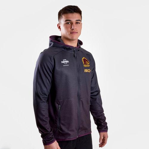 Brisbane Broncos NRL 2019 Players Hooded Rugby Sweat