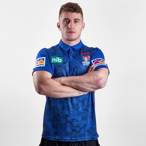 Newcastle Knights NRL 2019 Players Rugby Polo Shirt