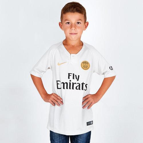 Paris Saint-Germain 18/19 Away Kids S/S Replica Football Shirt