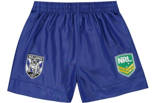 Canterbury Bulldogs NRL Kids Supporters Rugby Shorts