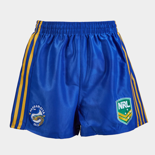 Parramatta Eels NRL Youth Supporters Rugby Shorts
