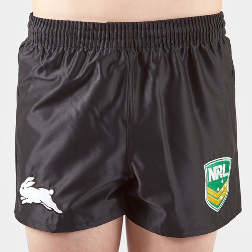 South Sydney Rabbitohs NRL Kids Supporters Rugby Shorts