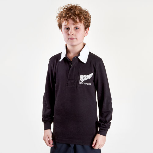 New Zealand 2019/20 Kids Vintage Rugby Shirt