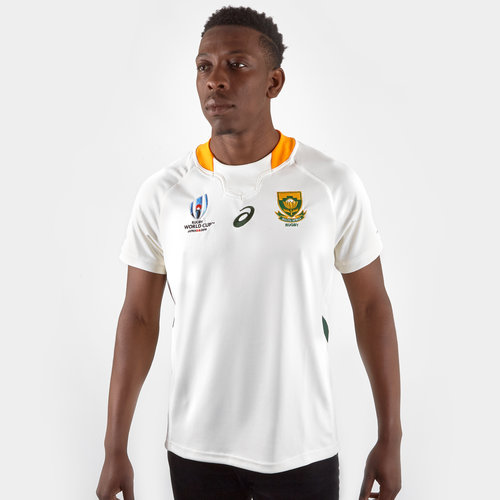 33ee483db Asics South Africa Springboks RWC 2019 Alternate S/S Replica Rugby ...