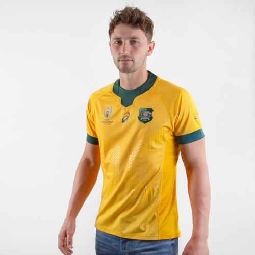 Australia Wallabies RWC 2019 Home Match Day S/S Shirt