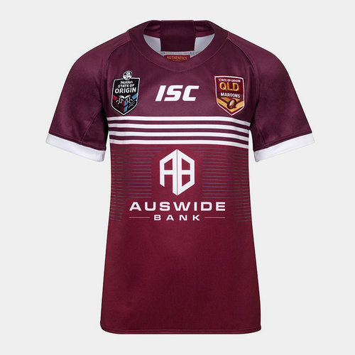 Queensland Maroons State of Origin 2019 Youth S/S League Shirt