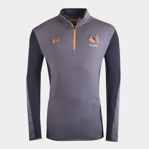 Wasps 2019/20 Players 1/4 Zip Rugby Training Jacket
