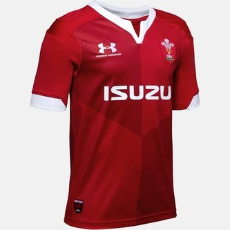 Wales Rugby Home Shirt 2019 2020 Junior