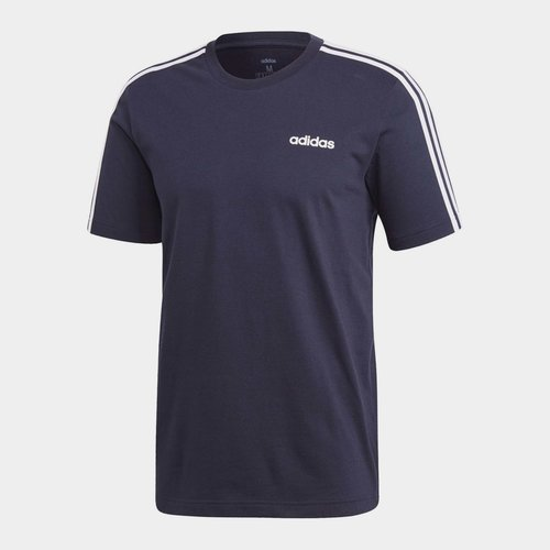 Essentials 3 Stripes Mens T Shirt