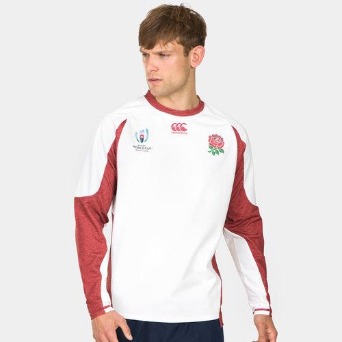 England RWC 2019 Tech Drill Rugby Training Top