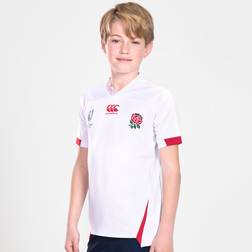 England RWC 2019 Kids Home Pro S/S Rugby Shirt