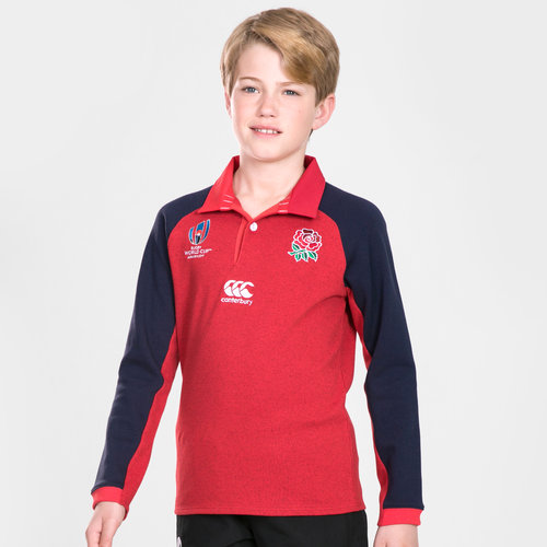 England RWC 2019 Kids Alternate Classic L/S Rugby Shirt