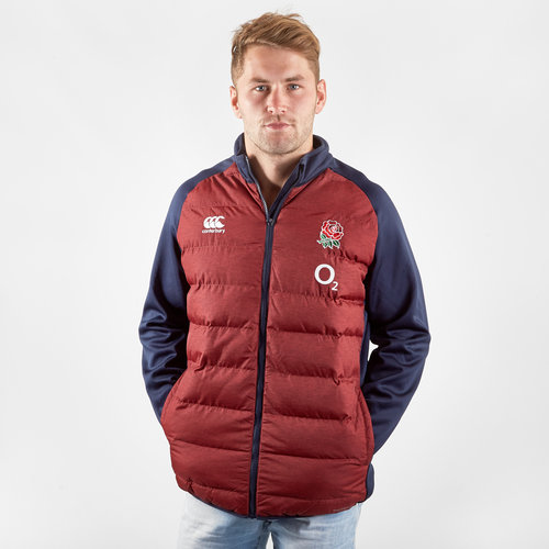 England 2019/20 Players Hybrid Rugby Jacket