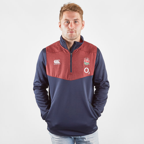 England 2019/20 Players 1/4 Zip Top