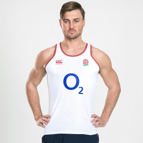 England 2019/20 Poly Rugby Training Singlet