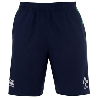 Ireland 2019/20 Players Woven Gym Rugby Shorts