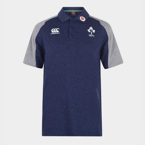 Ireland Short Sleeve Polo Shirt Mens