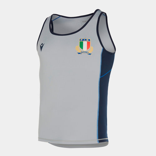 Italy 2019/20 Players Gym Training Singlet