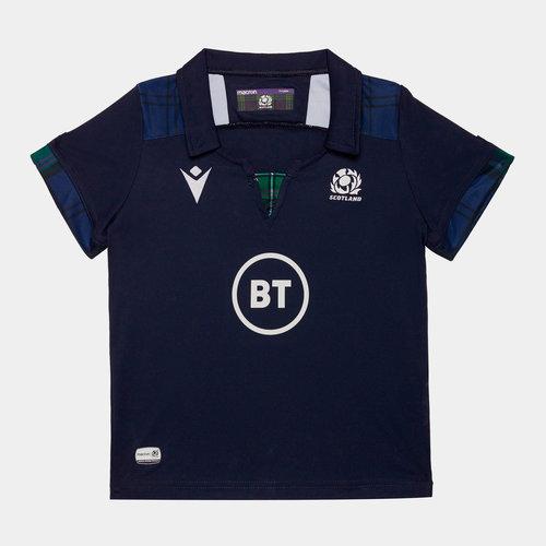 Scotland 2019/20 Infant Home S/S Replica Rugby Shirt