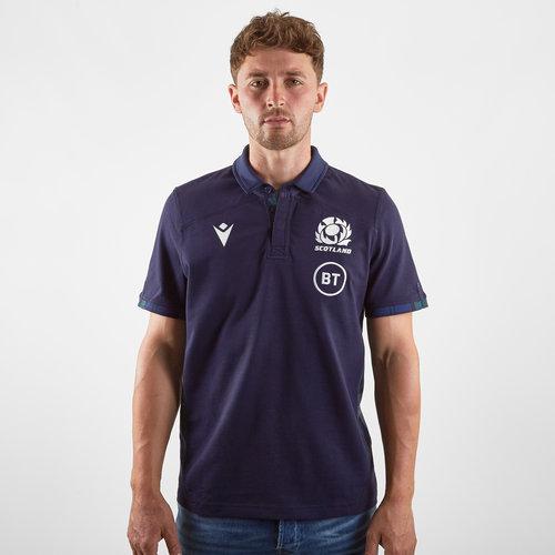 Scotland 2019/20 Home Cotton S/S Replica Rugby Shirt