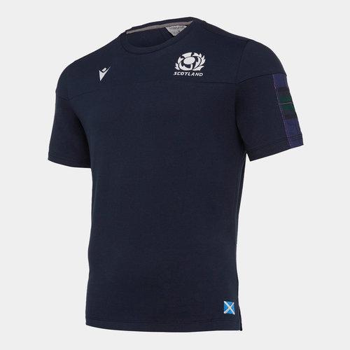 Scotland 2019/20 Kids Travel Rugby T-Shirt