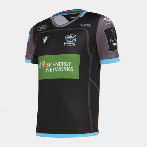 Glasgow Warriors 2019/20 Home Kids Replica Rugby Shirt