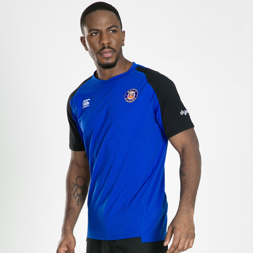 Bath 2019/20 Players Performance Cotton Rugby T-Shirt