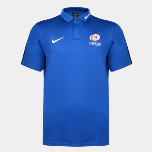 Saracens 2019/20 Players Flash Polo Shirt