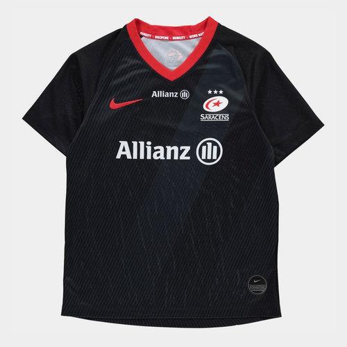 Saracens 2019/20 Home Kids Replica Shirt