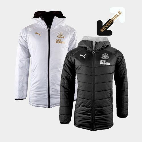 Newcastle United 19/20 Reversible Bench Football Jacket