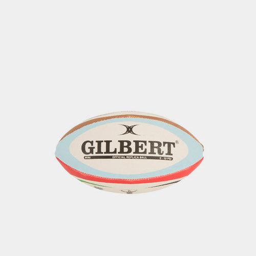 Harlequins Mini Replica Rugby Ball