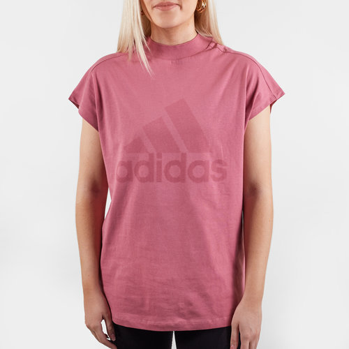 Harlequins Ladies ID Mock Neck Rugby T-Shirt