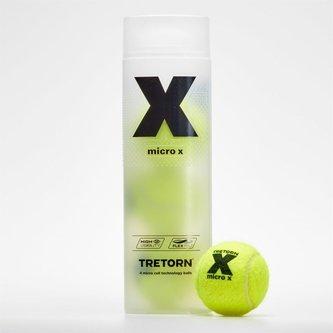 Micro X Ball Tube - 4 Tennis Balls